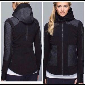 Lululemon Fleecy Keen Jacket in Black